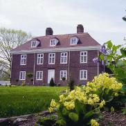 Pennsbury Manor, one of many gorgeous mansions in Morrisville, PA along the D&L Trail