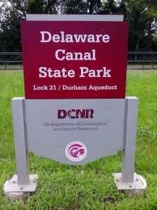 Delaware Canal State park Lock 21Durham Aqueduct Riegelsville