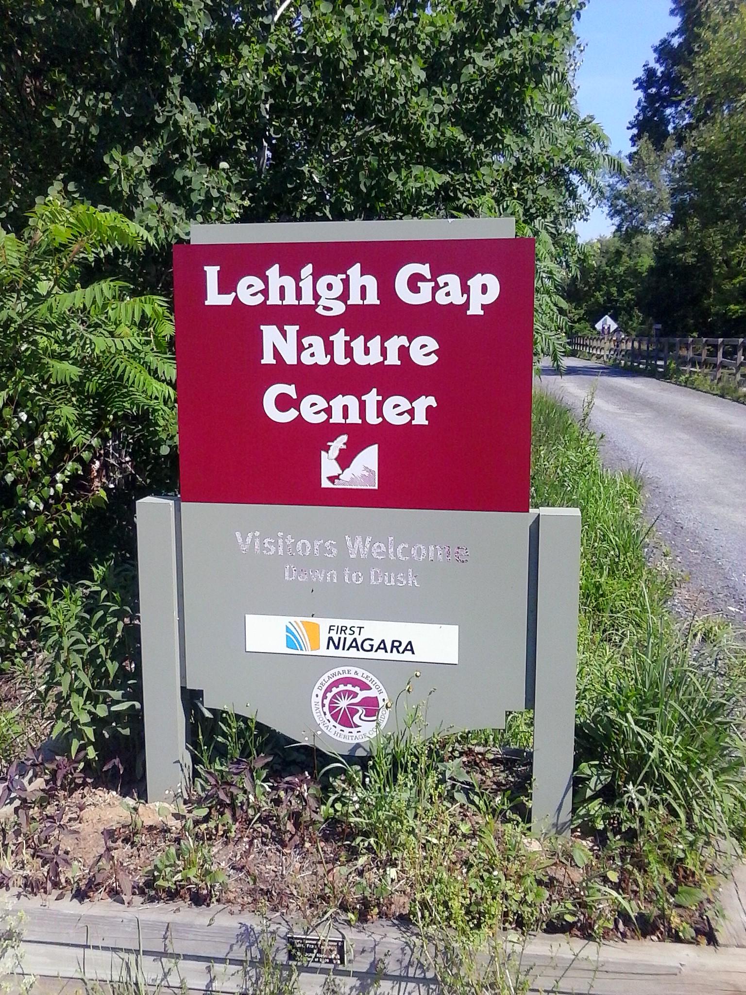 Lehigh Gap Nature Center Trail Map