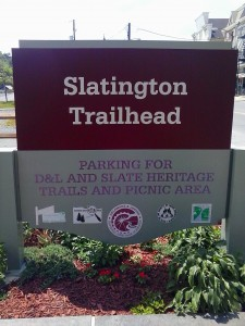 Slatington Trailhead Sign