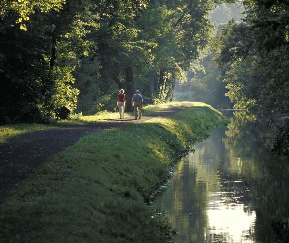 Canal Path, near Kintnersville