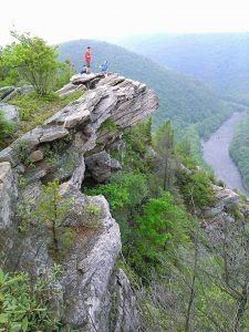 View from the Lehigh Gorge in the D&L Northern Region