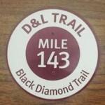 bike-trail-d&l-trail-milemarker