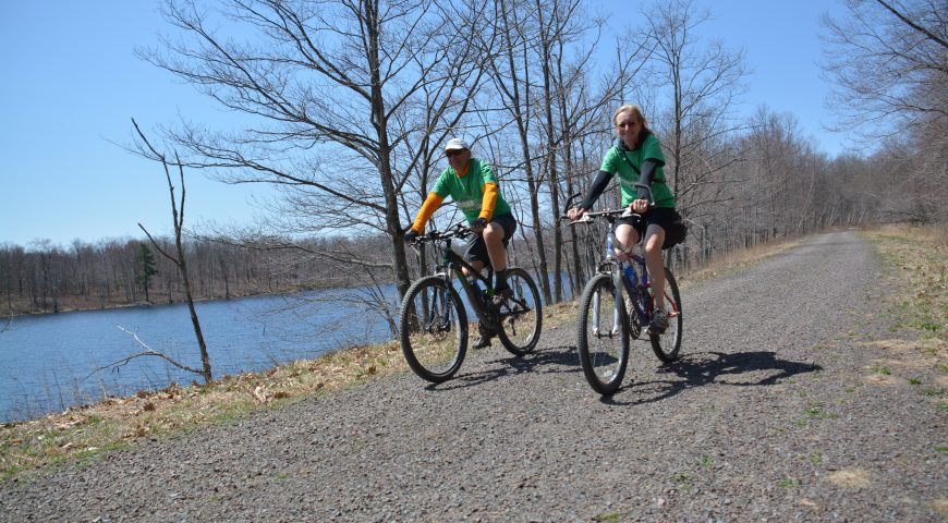 Bike for the Bridge 2015, a charity bike ride to benefit the D&L Trail