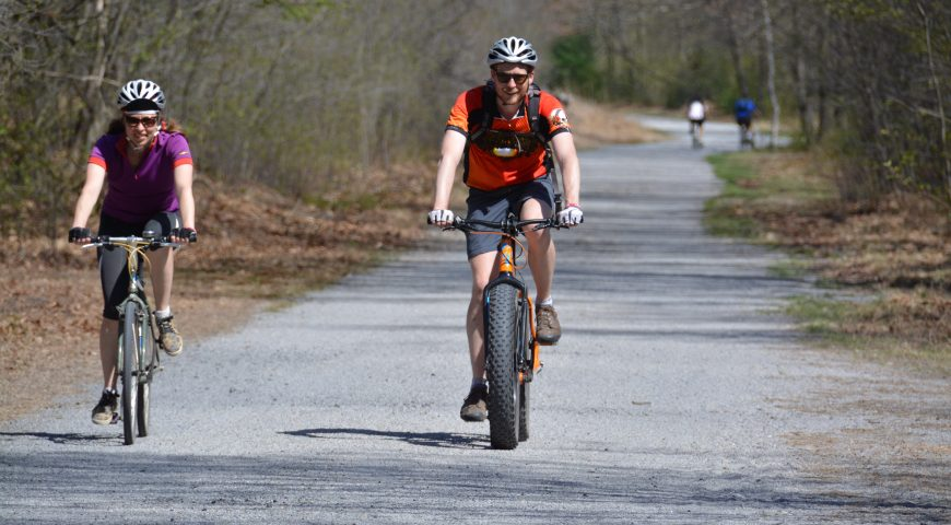 Bike for the Bridge 2015, a charity bike ride in Eastern PA to benefit the D&L Trail