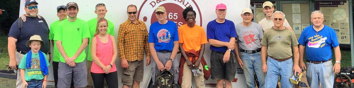 Delaware & Lehigh - Trail Tenders Reporting Form