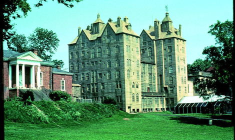 The Mercer Museum in Doylestown PA, near the D&L Trail