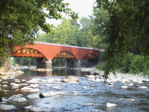 Tohickon Creek Aqueduct along the D&L Trail in Point Pleasant, PA