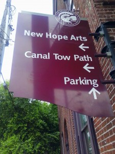New Hope - Parking and Trail