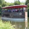 A mule-drawn canal boat ride on the Josiah White II along the Lehigh Canal in Easton, Pennsylvania