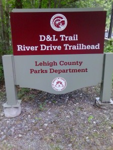 D & L River Road Trailhead Laury's Station