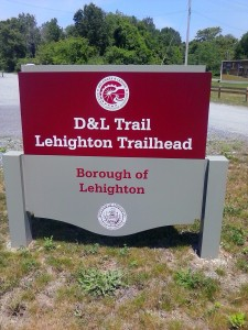 D & L Trail Lehighton Trailhead