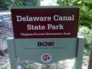 Landowner is Delaware Canal State Park