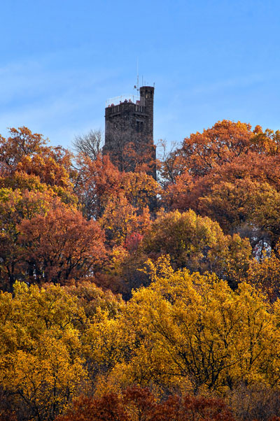 Bowman S Hill Tower Attractions D Amp L Delaware Amp Lehigh