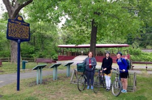 D&L Staff members on National Bike to Work Day, 2015.