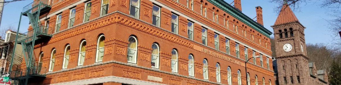 Delaware & Lehigh - Decades in the Making, Historic Lehigh Coal & Navigation Building Receives Upgrade