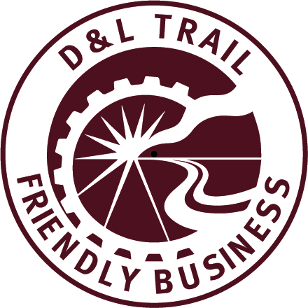 D&L Trail Friendly Business Logo