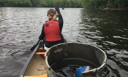 Lehigh River clean-up