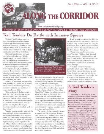 Along the Corridor is the D&L's quarterly newsletter