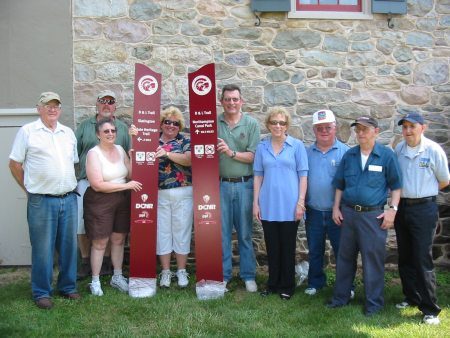 Walnutport received its new blade on National Trails Day
