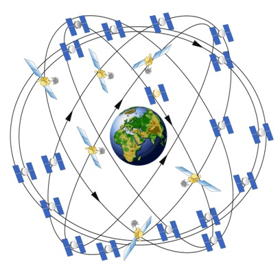 The GPS satellite constellation has made it much easier to create and customize data for GIS.