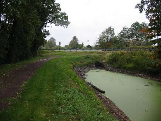 In Bucks County, Route 13 disrupts the flow of the Delaware Canal.
