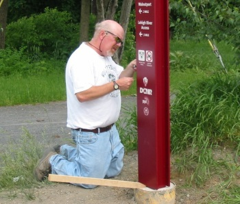 D&L Trail Steward Scott Everett