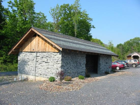 Restrooms along the Slate Heritage Trail were recently completed.