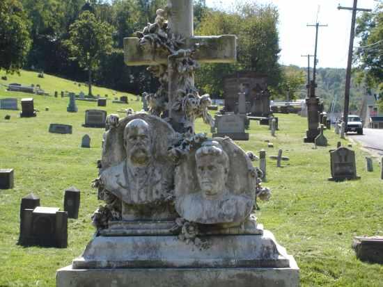 The Castellucci family headstone in St. Michael's