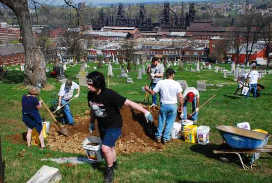 Join us on April 10 for the third annual clean up.