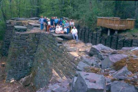 Trail Tenders complete their work in beautiful surroundings